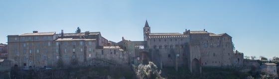 Viterbe : Pape Palace Landscape photo stock