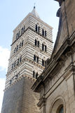 Viterbo (Italy), duomo Royalty Free Stock Photo