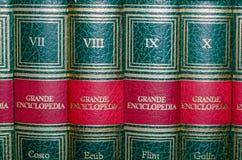 Viterbo 18/03/2018 książek encyklopedia obrazy royalty free