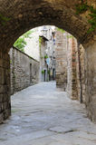 Viterbo, medieval town Stock Photo