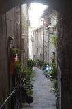 Viterbo, medieval town Stock Photography