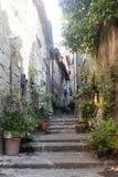 Viterbo, medieval town Stock Photo