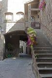 Viterbo, medieval town Stock Photos