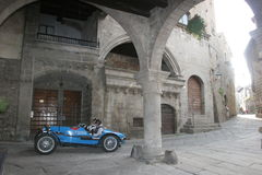 VITERBO-MILLE MIGLIA RACE 2008 Royalty Free Stock Photos