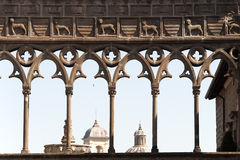 Viterbo, Palace of the Popes Royalty Free Stock Image