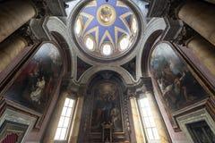 Viterbo (Włochy), duomo Fotografia Royalty Free