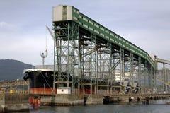 Viterra, terminal de Cascadia Fotografia de Stock