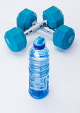 Vitesse bleue de forme physique Photos libres de droits