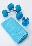 Vitesse bleue de forme physique Images libres de droits