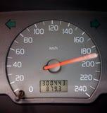 Vitesse d'indicateur de vitesse Photographie stock