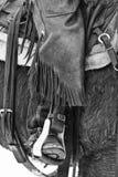 Vitesse d'un cowboy Photo libre de droits