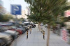 Vitesse dans la ville Photographie stock libre de droits