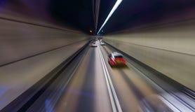 Vitesse dans le tunnel Photos stock
