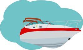 vitesse de bateau Photographie stock libre de droits