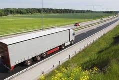 vitesse de camion Photo libre de droits