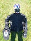Vitesse de moto Photos libres de droits
