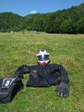 Vitesse de moto Image libre de droits