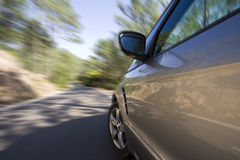 Vitesse de véhicule Photographie stock libre de droits