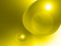 Vitesse jaune abstraite Images libres de droits