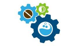 Vitesse Logo Design Template de boisson Image stock