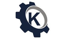 Vitesse Logo Letter K Images libres de droits