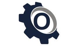 Vitesse Logo Letter O Photographie stock libre de droits