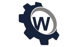 Vitesse Logo Letter W Photographie stock