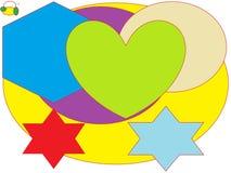 Vitesses colorées Images libres de droits