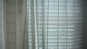 Vitgardiner och fönster lager videofilmer