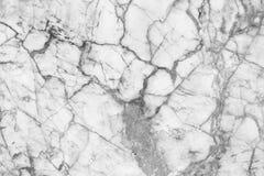 Vitgrå färger marmorerar textur, den detaljerade strukturen av marmor i naturligt mönstrat för bakgrund och design Arkivbilder
