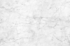 Vitgrå färger marmorerar textur, den detaljerade strukturen av marmor i naturligt mönstrat för bakgrund och design Royaltyfri Bild