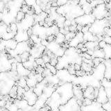 Vitgrå färger marmorerar textur för bakgrund eller design Arkivbild