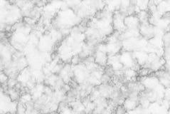 Vitgrå färger marmorerar textur med den naturliga modellen för bakgrunds- eller designkonstarbete Arkivfoton