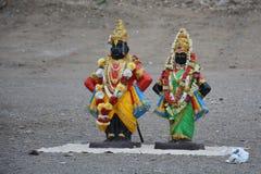 Vithal - Rukmini Fotografia de Stock Royalty Free