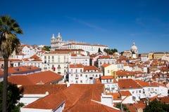 Vithus i Lissabon Royaltyfri Bild