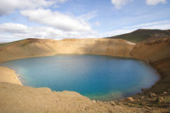 Viti Crater, Iceland Stock Photo