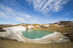 Viti Crater Stock Photo