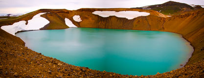 Viti crater, Iceland Royalty Free Stock Photography