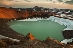 Viti Crater, Krafla Volcano Stock Image