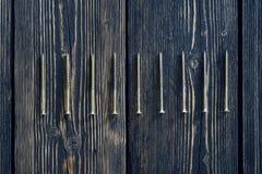 viti su vecchio legno Immagini Stock Libere da Diritti