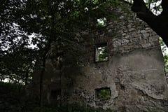 Vitin. Abandoned village Vitin near Aussig (Usti nad Labem), Czech Republic Royalty Free Stock Photo