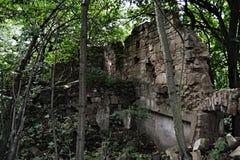 Vitin. Abandoned village Vitin near Aussig (Usti nad Labem), Czech Republic Royalty Free Stock Photography
