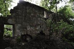 Vitin. Abandoned village Vitin near Aussig (Usti nad Labem), Czech Republic Royalty Free Stock Photos