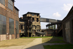 Vitkovice铁和钢厂大厦 免版税图库摄影
