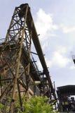 Vitkovice铁和钢厂的结构 免版税图库摄影