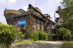 Vitkovice Iron and Steel Works Blast furnaces Royalty Free Stock Photos