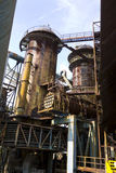 Vitkovice Iron and Steel Works Blast furnaces associated towers Royalty Free Stock Photo