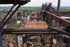 Vitkovice Iron and Steel Works Blast furnaces Stock Photo