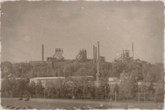 Vitkovice Iroworks. Picture taken from the terrace Forum New Carolina Royalty Free Stock Image