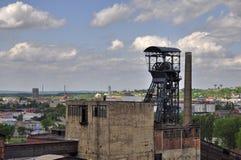 Vitkovice mining tower Royalty Free Stock Photo